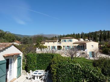 gite locations de vacances Châteauneuf de Grasse